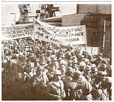 Manifestação Operária