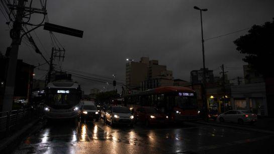 Schwarzer Regen, São Paulo, August 2019